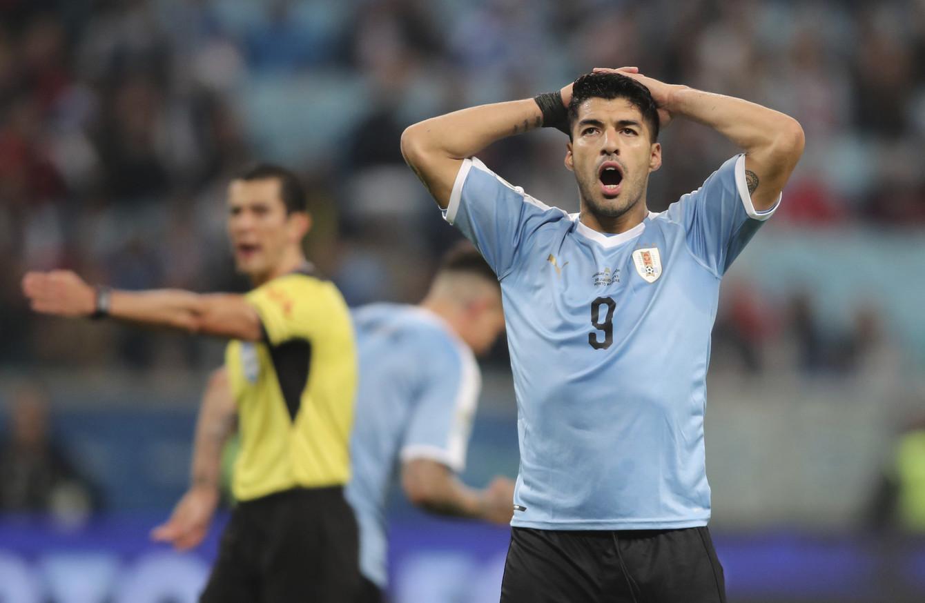 Luis Suarez rues mistakes as Japan secure point against Urug