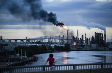 Huge fire breaks out at Philadelphia oil refinery