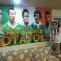 Irish fan puts careers of Keane, Giles and Brady down to the 'power of potatoes'