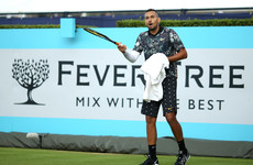 Nick Kyrgios slapped with a fine following angry outburst at Irish umpire