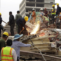 Seven people dead after Cambodian building collapse