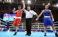Irish boxers Molloy and Nevin advance at European Games
