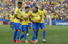 Goalkeeper error helps Brazil trounce Peru to reach Copa America last eight