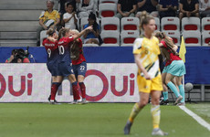Norway keep their cool in shoot-out to advance past Australia