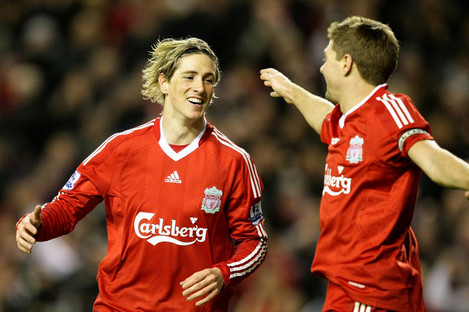 Torres and Gerrard formed a formidable partnership at Liverpool.