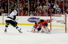 Stanley Cup: Devils fall to Kings' OT goal in game one