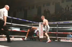 Watch Eric Donovan's 3rd-round knockout on his UK debut as he closes in on a European title shot