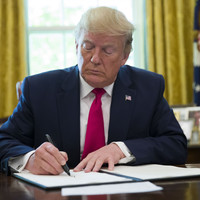 Trump orders 'hard-hitting' financial sanctions on Iran's supreme leader