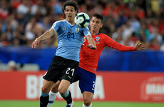 Cavani header snatches Copa America group top spot for Uruguay as Chile to face Colombia