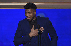 Tearful 'Greek Freak' named NBA's Most Valuable Player