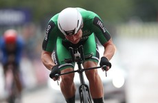 Ireland's Mullen agonisingly finishes one second outside of medal places in time trial