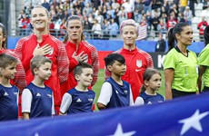 Donald Trump criticises American captain's anthem protest at World Cup