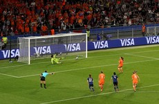 Penalty drama sends European champions into World Cup quarter-finals