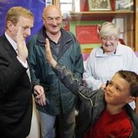 To the polls: Enda, Gerry and Michael D cast their votes