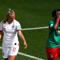 Cameroon defender apologises for spitting on England player during heated World Cup clash