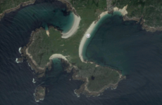 Quiz: Can you name the famous Irish beach from the satellite photo?