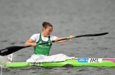 Jenny Egan falls just shy of a medal despite strong finish in Minsk