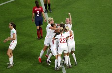 Neville's England the first through to World Cup semi-finals after three-goal win over Norway
