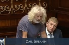 Mick Wallace becomes emotional during last Dáil address before he heads off to Europe