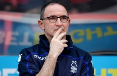 Martin O'Neill sacked by Nottingham Forest after five months in charge