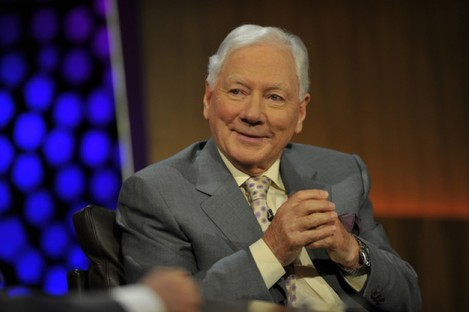 Gay Byrne during the Late Late 50th anniversary show.