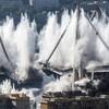 Italy demolishes remainder of Genoa bridge which collapsed last year