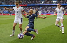 As it happened: France v USA, World Cup quarter-final