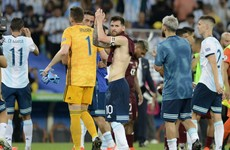 Argentina set up mouth-watering semi-final with Brazil by downing Venezuela