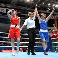 Split-decison heartbreak for Michaela Walsh in European Games final