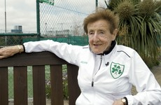 Ireland's over-85s tennis world champion on playing at Wimbledon in the 1950s