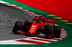 Hamilton hit with three-place penalty as Ferrari's Leclerc takes pole for Austrian Grand Prix