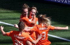 Oranje make history with second-half headers