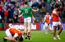 Mayo endure yet more qualifier drama in one-point win over Armagh