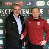 Cork City appoint Kelleher as first team manager, Cotter to retain head coach role