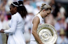 Wimbledon champion Kerber wary of Serena shadow