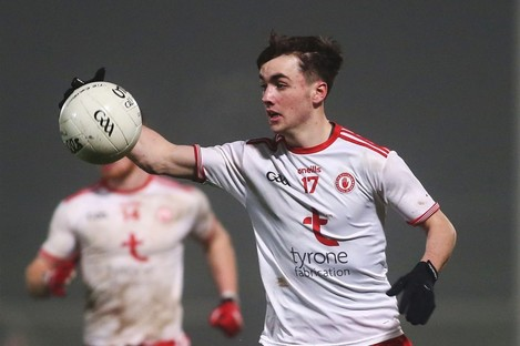 A Darragh Canavan goal helped Tyrone secure a place in the Ulster semi-final.