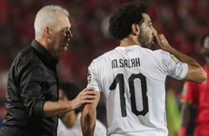 Mohamed Salah scores free-kick as Egypt maintain perfect Africa Cup of Nations record