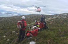 Man airlifted from Croagh Patrick after falling on descent