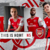 Arsenal embrace London culture as new retro home kit is revealed