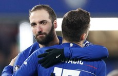 Higuain returns to Juventus as Chelsea decline option to extend his stay
