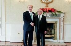Billionaire Irish-American takes office as US ambassador to Ireland after Áras ceremony