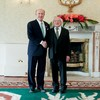 Billionaire Irish-American takes office as US ambassador to Ireland after Áras ceremony
