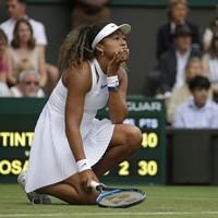 Second seed Osaka crashes out of Wimbledon, Djokovic safely through