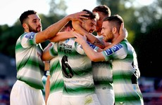 Classy Sean Kavanagh free kick helps Shamrock Rovers earn Dublin derby win