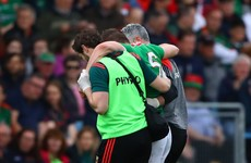 Former Footballer of the Year set to miss Galway clash as Mayo injury crisis deepens