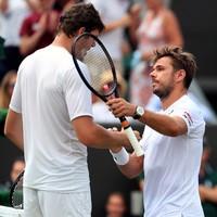 Wawrinka suffers shock Wimbledon exit to the tallest man in tennis