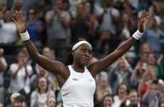 'I can beat anyone': Coco Gauff takes it all in her stride at Wimbledon