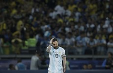 Argentina lodge official complaint over refereeing in Copa America defeat