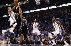 Thunder halt San Antonio's 20-game win streak