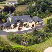 Countryside views and cosy living in this Cork home with a two-tier garden